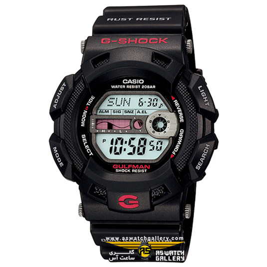 ساعت کاسیو مدل g-9100-1dr