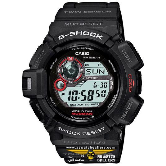 ساعت کاسیو مدل g-9300-1dr