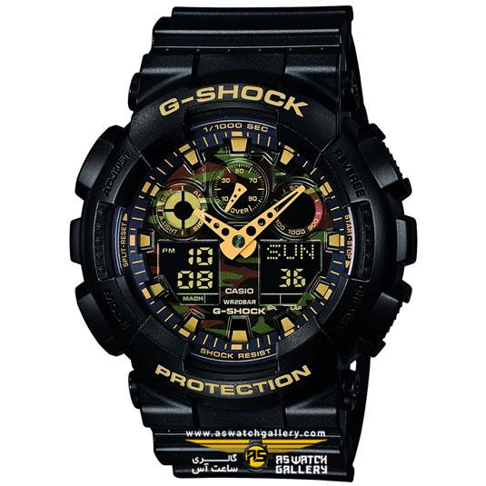 ساعت کاسیو مدل ga-100cf-1a9dr