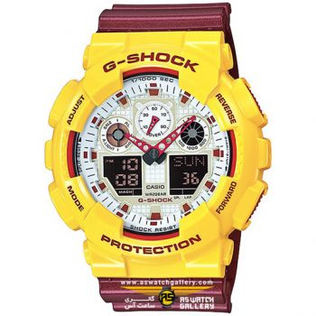 CASIO G-SHOCK GA-100CS-9ADR