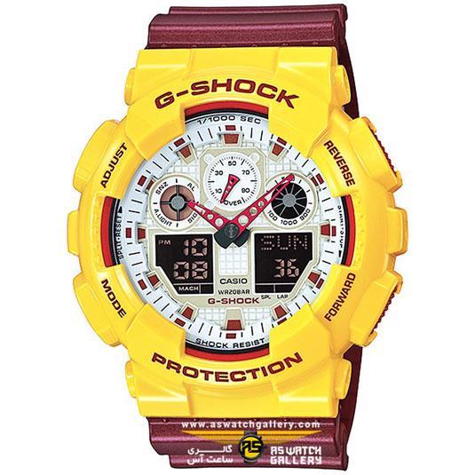 ساعت کاسیو مدل ga-100cs-9adr