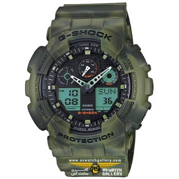 CASIO G-SHOCK GA-100MM-3ADR