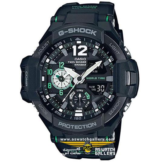 ساعت مچی کاسیو مدل ga-1100-1a3dr