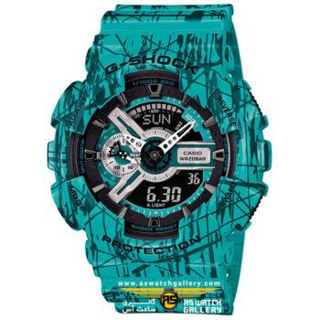 ساعت مچی کاسیو مدل ga-110sl-3adr