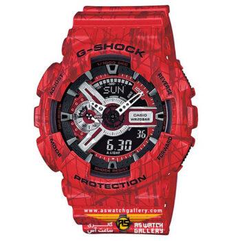 ساعت مچی کاسیو مدل ga-110sl-4adr