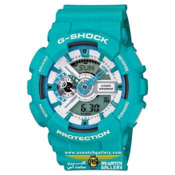 ساعت مچی کاسیو مدل ga-110sn-3adr