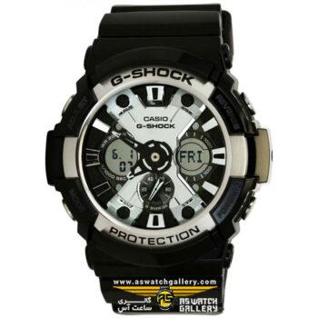 ساعت مچی کاسیو مدل ga-200bw-1adr