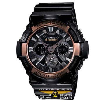 ساعت مچی کاسیو مدل ga-200rg-1adr
