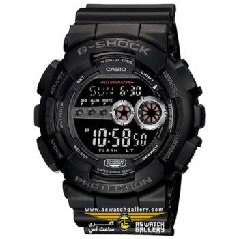 ساعت مچی کاسیو مدل gd-100-1bdr