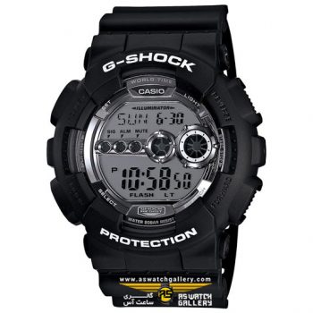 ساعت کاسیو مدل gd-100bw-1dr