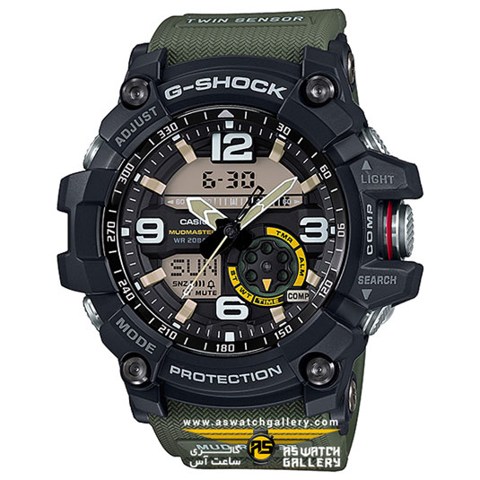 ساعت مچی کاسیو مدل gg-1000-1a3dr