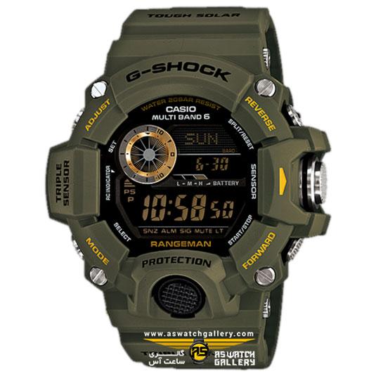 ساعت کاسیو مدل gw-9400-3dr
