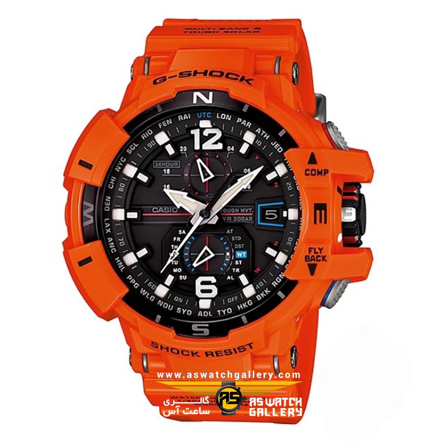 ساعت مچی کاسیو مدل gw-a1100r-4adr