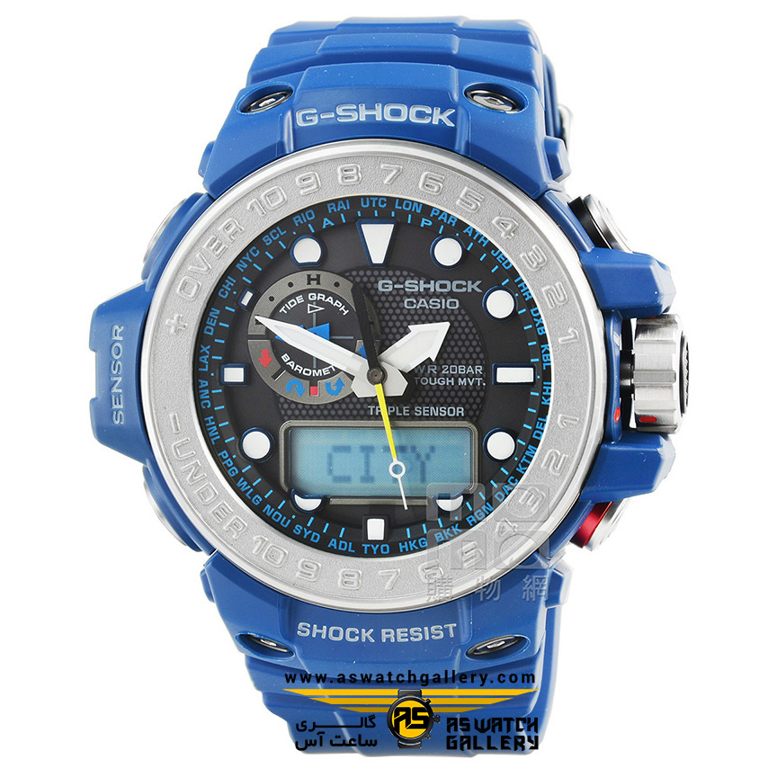 ساعت مچی کاسیو مدل gwn-1000-2adr