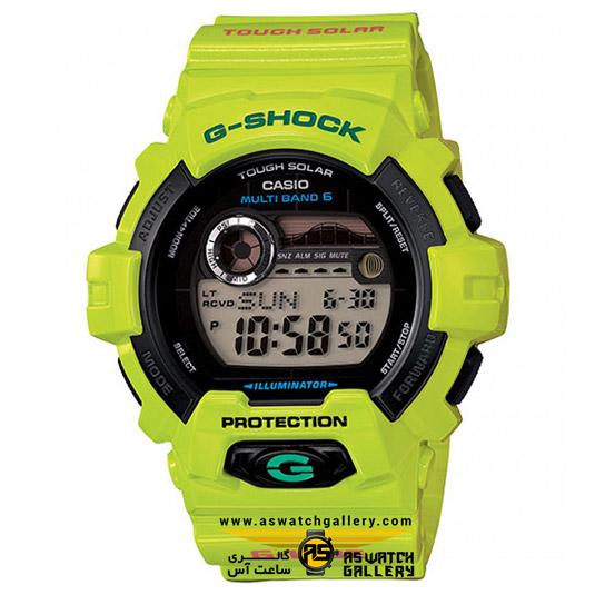 ساعت مچی کاسیو مدل gwx-8900c-3dr