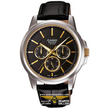 ساعت مچی کاسیو مدل bem-307bl-1a1vdf