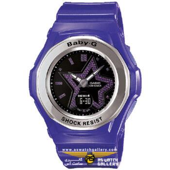 ساعت مچی کاسیو مدل bga-103-6bdr