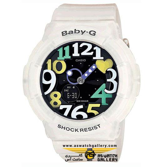 ساعت مچی کاسیو مدل bga-131-7b4dr