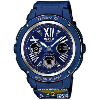 ساعت کاسیو مدل bga-153ar-2bdr