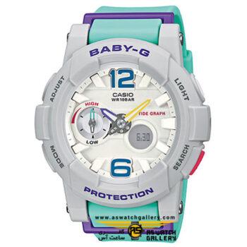 ساعت مچی کاسیو مدل bga-180-3bdr