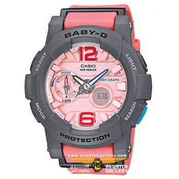 ساعت مچی کاسیو مدل bga-180-4b2dr