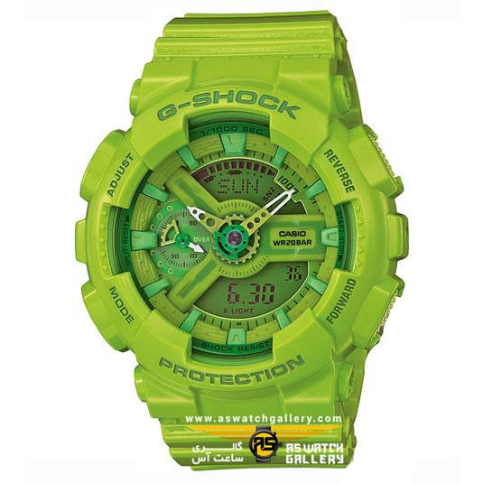 ساعت مچی کاسیو مدل gma-s110cc-3adr