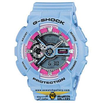ساعت مچی کاسیو مدل gma-s110f-2adr
