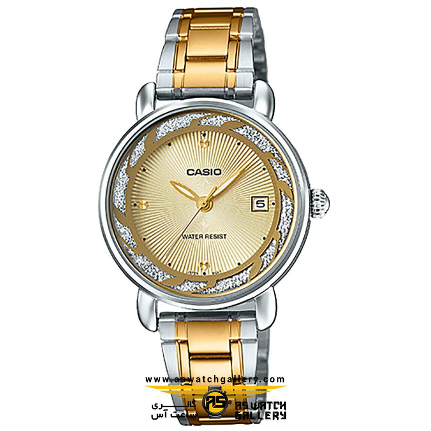 ساعت مچی زنانه کاسیو مدل ltp-e120sg-9avdf