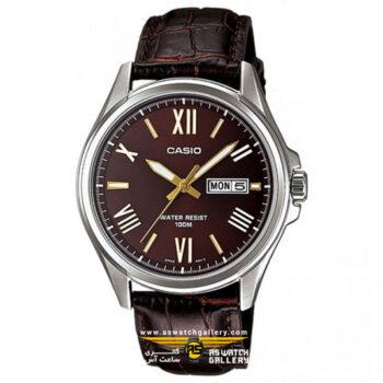 ساعت مردانه کاسیو مدل mtp-1377l-5avdf