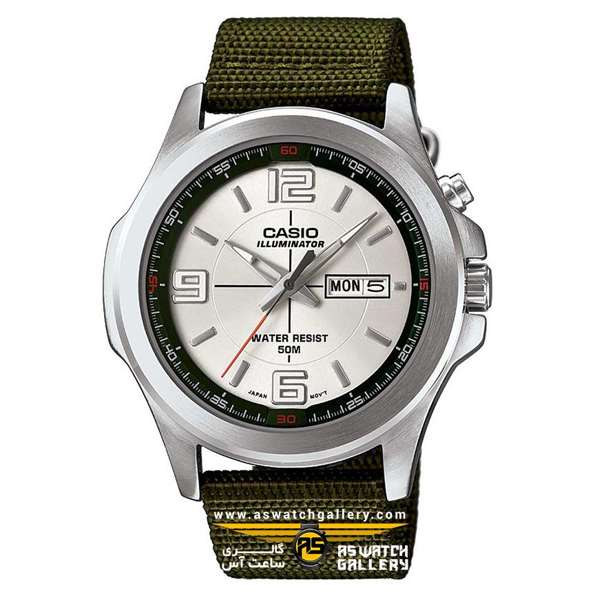ساعت مچی اسپرت casio مدل MTP-E202-3AVDF