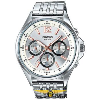 ساعت مچی مردانه کاسیو مدل mtp-e303d-7avdf