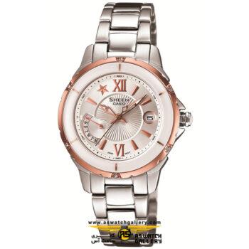 ساعت مچی کاسیو مدل she-4505sg-7adr