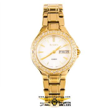 ساعت مچی کاسیو مدل she-4800g-7audr