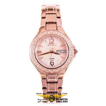 ساعت مچی کاسیو مدل she-4800pg-9audr