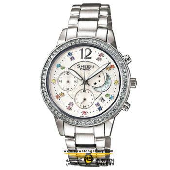 ساعت مچی کاسیو مدل she-5018d-7adf
