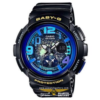 ساعت مچی کاسیو مدل bga-190gl-1bdr
