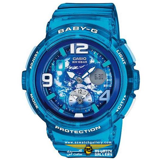 ساعت مچی کاسیو مدل bga-190gl-2bdr