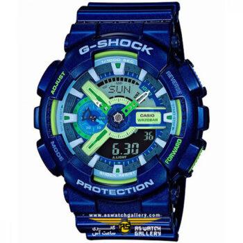 ساعت مچی کاسیو مدل ga-110mc-2adr