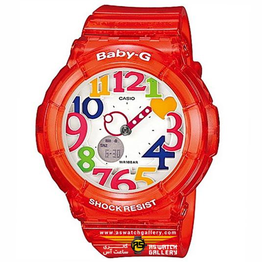 ساعت مچی کاسیو مدل bga-131-4bdr