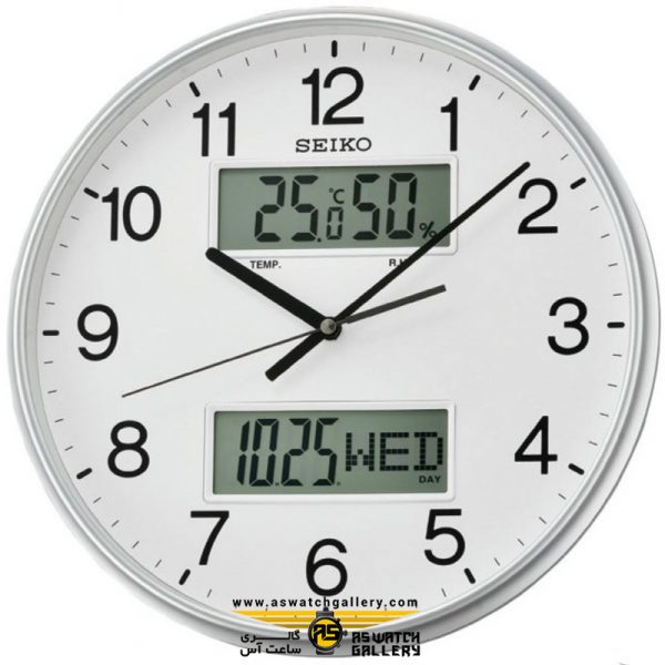 ساعت دیواری سیکومدل qxl013s