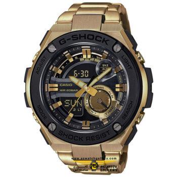 ساعت مچی کاسیو مدل gst-210gd-1adr