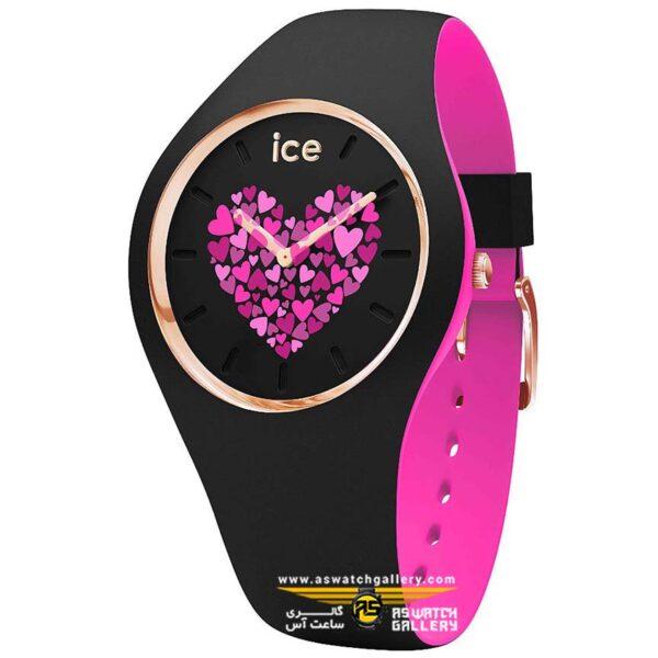ساعت آیس مدل ICE LOVE 2017-BLACK-MEDIUM-2H W-ROATING DISC