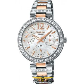 ساعت مچی کاسیو مدل she-3043sg-7audr