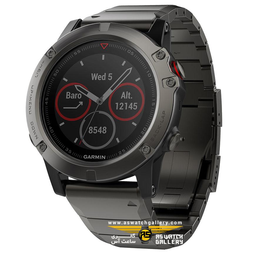 ساعت مچی گارمین مدل fenix5x 010-01733-03