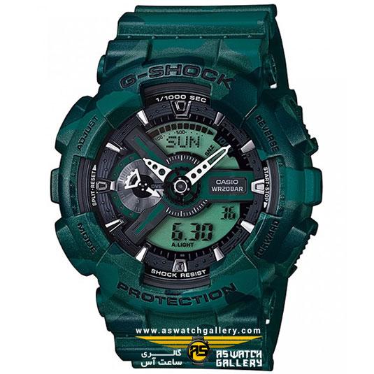 ساعت مچی کاسیو مدل ga-110cm-3adr
