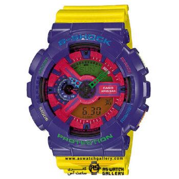 ساعت مچی کاسیو مدل ga-110hc-6adr