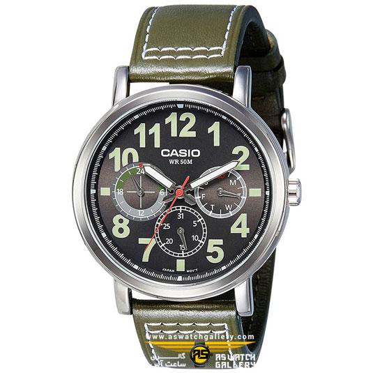 ساعت مچی کاسیو مدل mtp-e309l-3avdf