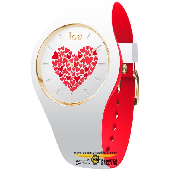 ساعت آیس ICE LOVE 2017-WHITE-MEDIUM-2H W-ROATING DISC