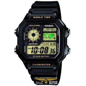 ساعت کاسیو مدل ae-1200wh-1bvdf