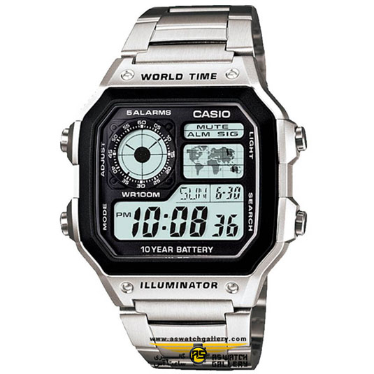 ساعت کاسیو مدل AE-1200WHD-1AVDF
